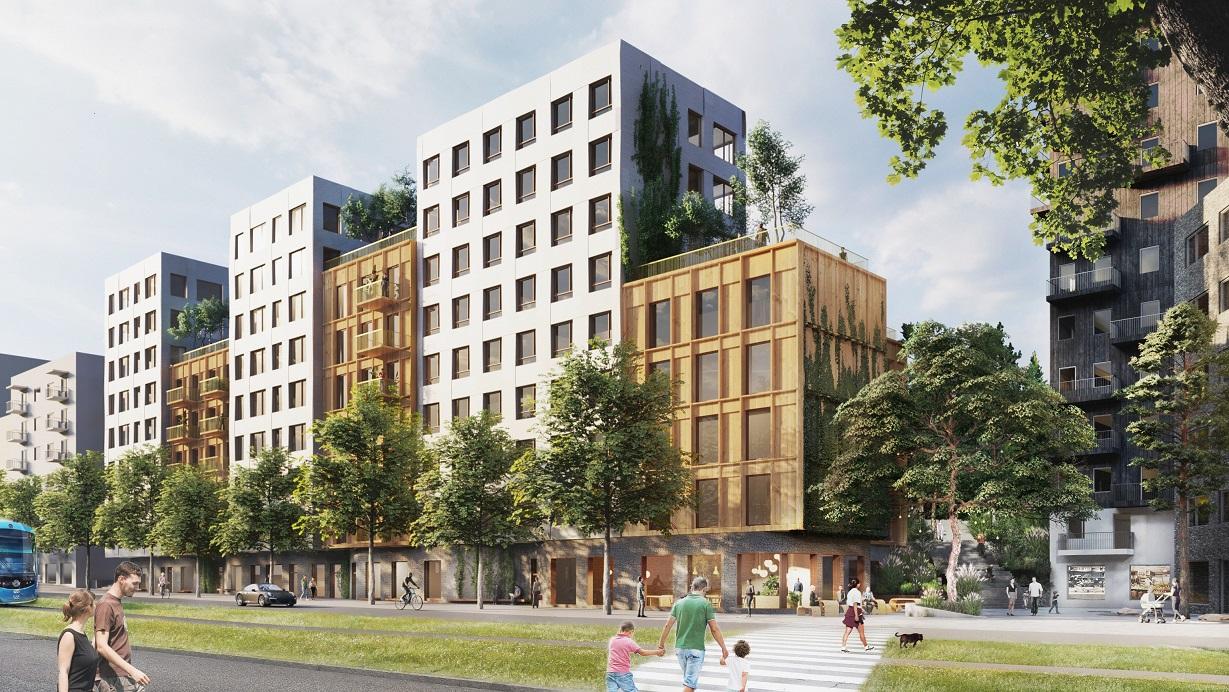 COLIVE Hälsovägen_Arkitekt C.F. Møller_liten